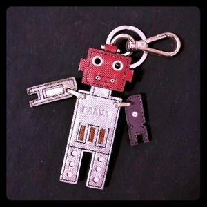 Authentic Prada Robot Charm Trick
